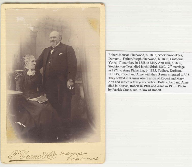 Robert Johnson Sherwood & wife